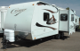 Used 2010 Keystone Cougar 24RKS Travel Trailer For Sale