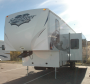 Used 2012 Forest River Sandpiper 32QBSS Fifth Wheel For Sale