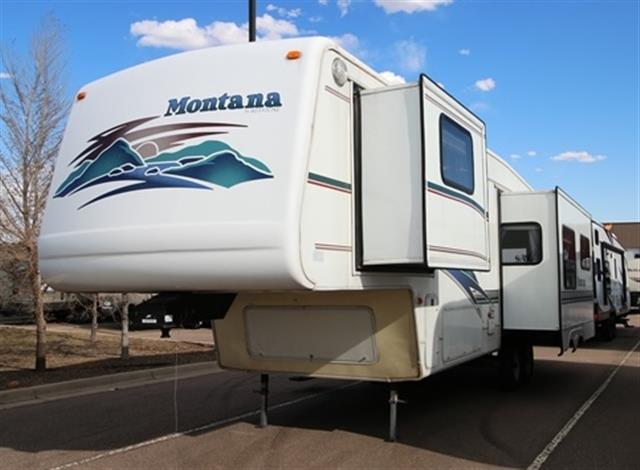 Used 1999 Keystone Montana 3255RL Fifth Wheel For Sale