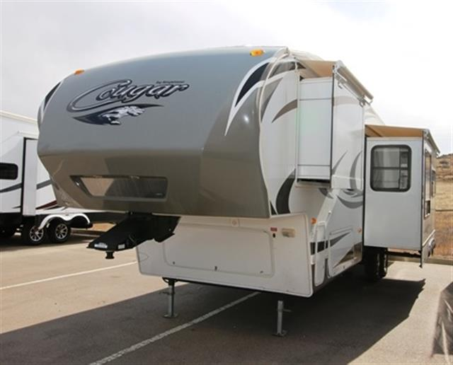 Used 2012 Keystone Cougar 322QBS Fifth Wheel For Sale