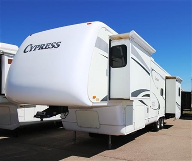 Used 2006 Newmar Cypress 34BLSK Fifth Wheel For Sale