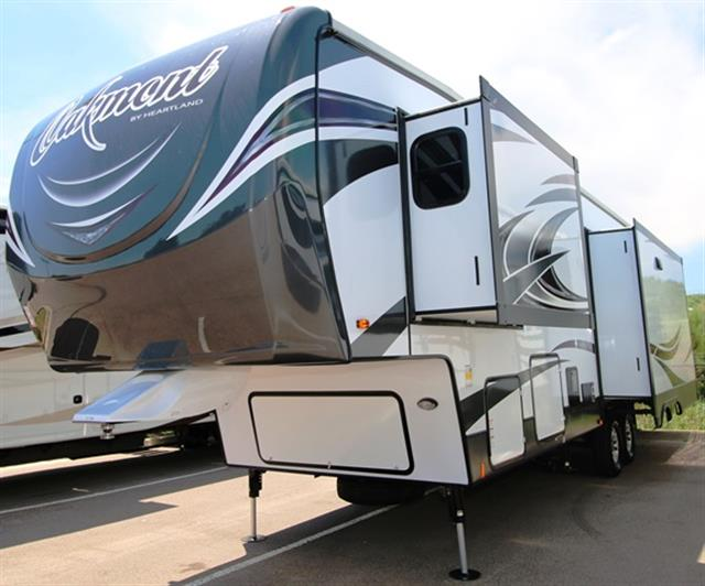 New 2016 Heartland OAKMONT 345RS Fifth Wheel For Sale