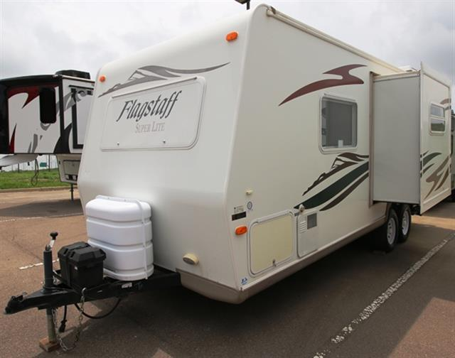 Used 2007 Flagstaff Flagstaff 23FBS Travel Trailer For Sale