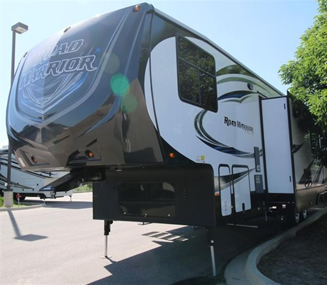 New 2016 Heartland Road Warrior 355 Fifth Wheel Toyhauler For Sale