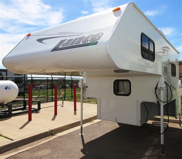 Used 2008 Lance Lance 825 Truck Camper For Sale