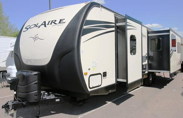 Used 2014 Forest River SOLAIRE ECLIPSE 315RLTSEK Travel Trailer For Sale