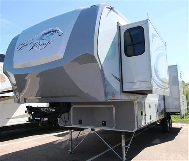 Used 2012 OPEN RANGE OPEN RANGE 3450RLS Fifth Wheel For Sale