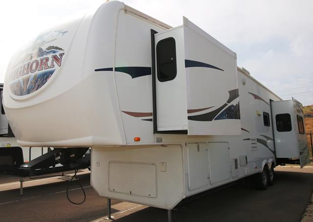 Used 2008 Heartland Bighorn 3400RE Fifth Wheel For Sale