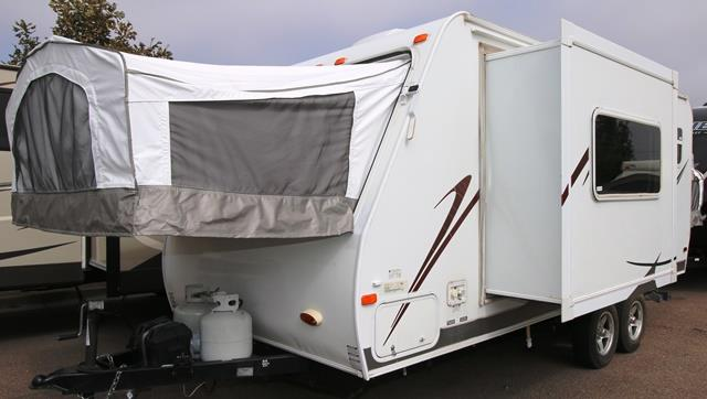 Used 2007 Forest River Stampede 21SD Hybrid Travel Trailer For Sale