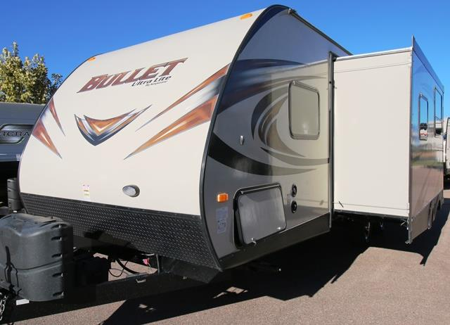 Used 2015 Keystone Bullet 251RBS Travel Trailer For Sale