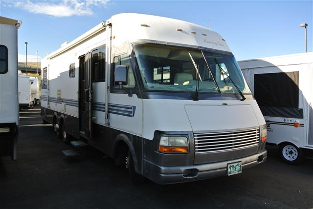 Buy a Used Newmar Kountry Star in Golden, CO.