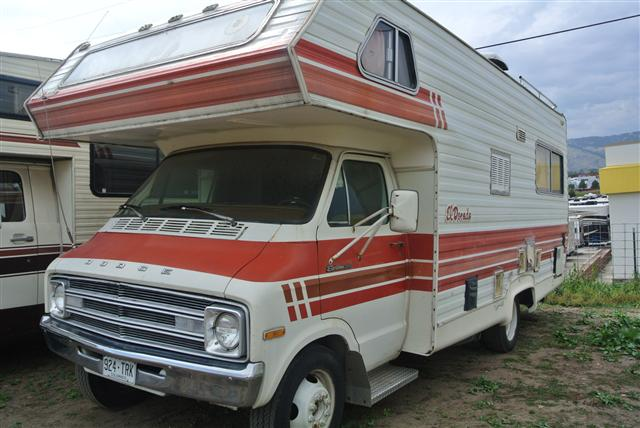 1978 Sportman RV SPORTS VAN