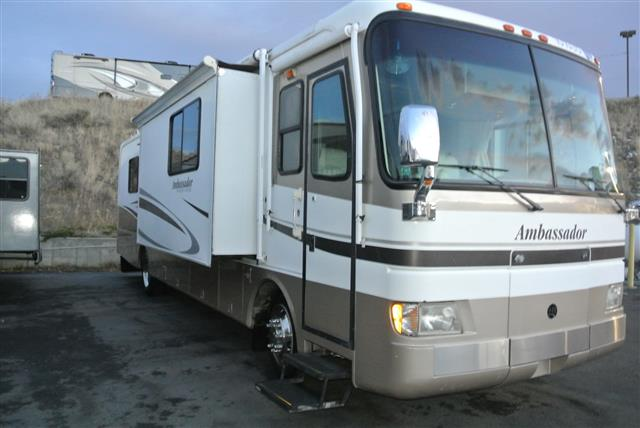 Used 2002 Holiday Rambler Ambassador 36PST Class A - Diesel For Sale