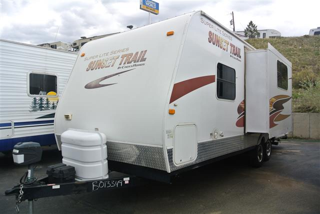 Used 2009 Crossroads Sunset Trail Sls 22BH Travel Trailer For Sale