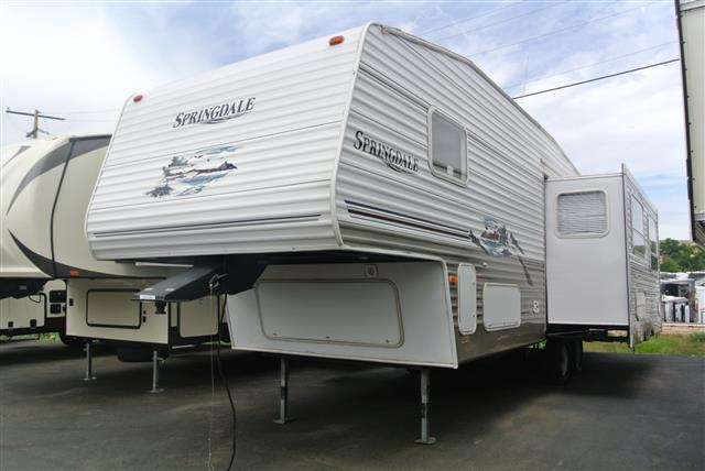 Used 2006 Keystone Springdale 280FWIKLGL Fifth Wheel For Sale