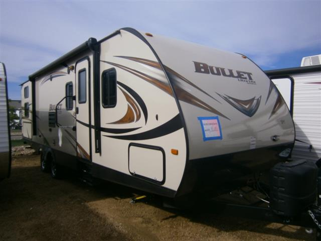 New 2015 Keystone Bullet 287QBS Travel Trailer For Sale