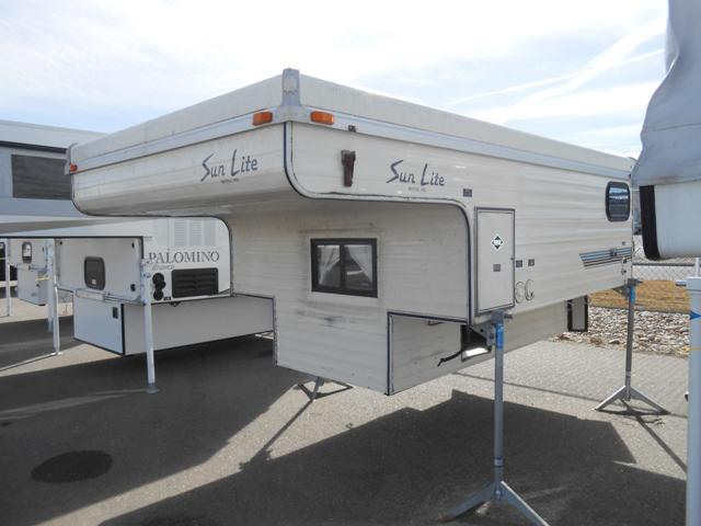 Sun Lite Truck Camper Rvs For Sale New And Used Rvs For