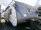 New 2015 Forest River Sandstorm 210SLC Travel Trailer Toyhauler For Sale