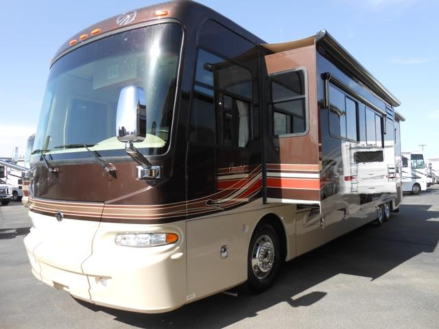 Used 2008 Monaco Camelot 42DSQ Class A - Diesel For Sale