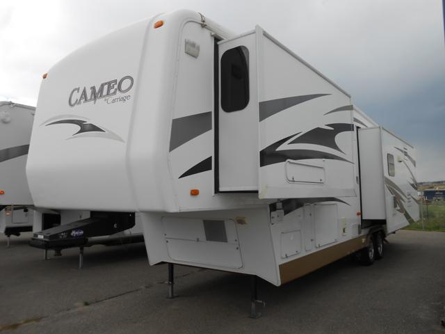 Used 2008 Carriage Cameo 35FD3 Fifth Wheel For Sale