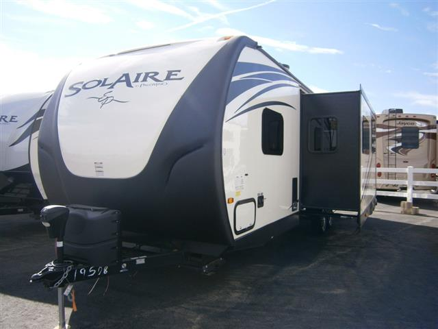 New 2015 Forest River SOLAIRE ECLIPSE 269BHDSK Travel Trailer For Sale