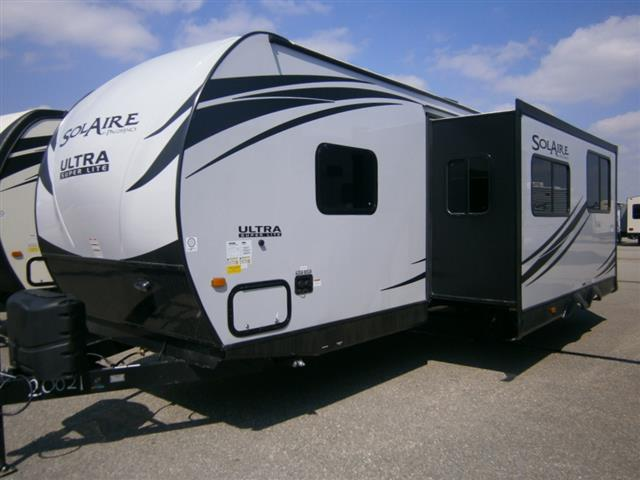 New 2016 Forest River SOLAIRE ULTRA-LITE 25BHSS Travel Trailer For Sale