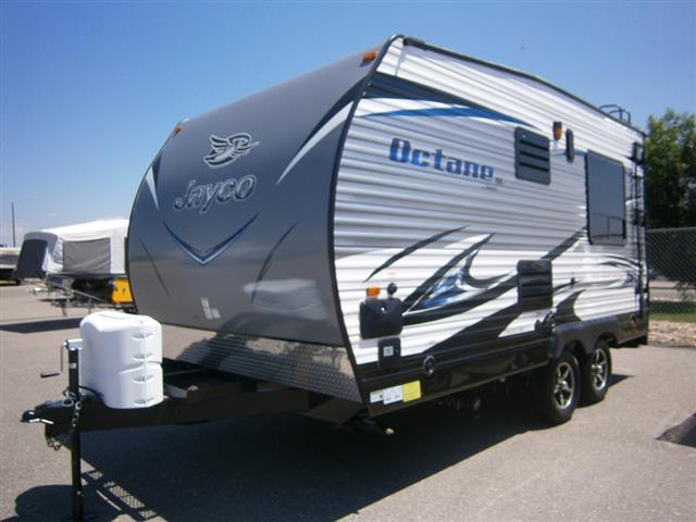 New 2016 Jayco OCTANE SUPER LITE 161 Travel Trailer Toyhauler For Sale