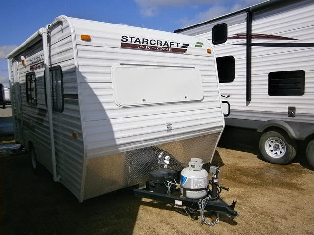 Used 2011 Starcraft AR-ONE 15RB Hybrid Travel Trailer For Sale