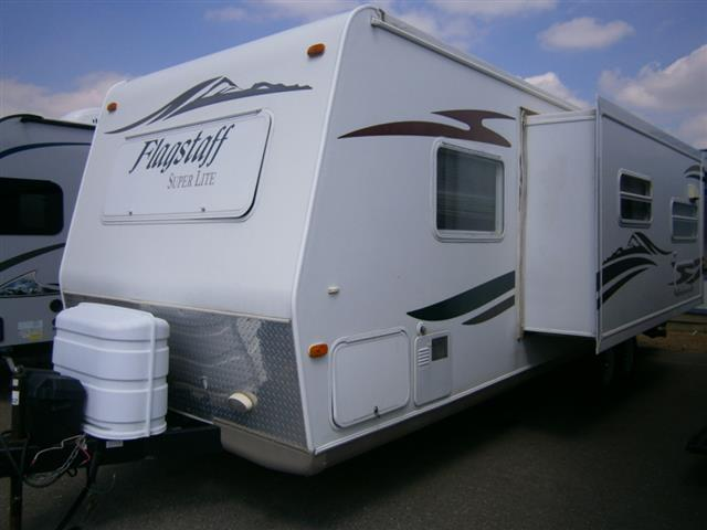 Used 2007 Forest River Flagstaff 26BHSS Travel Trailer For Sale
