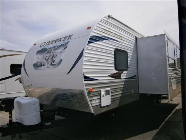 Used 2013 Forest River Cherokee 264BH Travel Trailer For Sale
