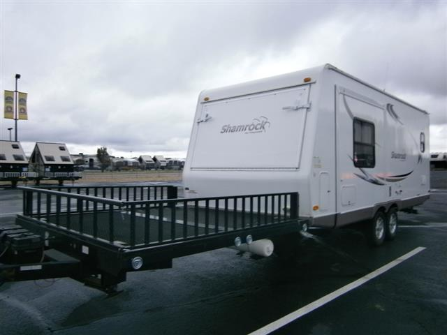 Used 2010 Flagstaff Shamrock 232L Travel Trailer Toyhauler For Sale