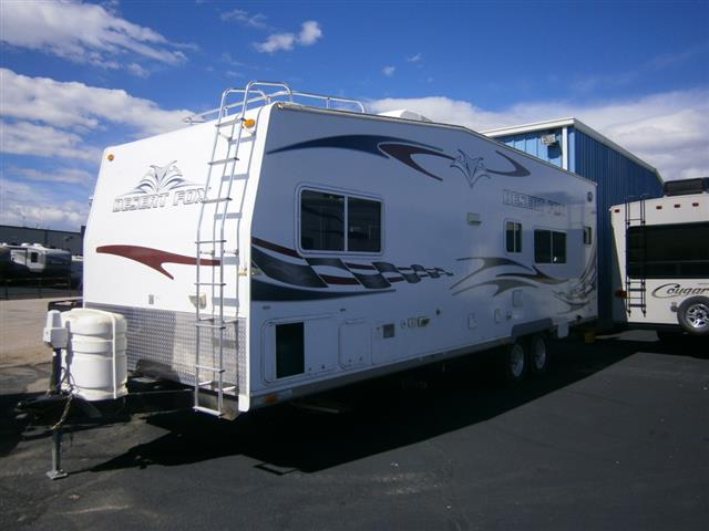 Used 2009 Northwood Manufacturing Desert Fox 28KS Travel Trailer Toyhauler For Sale