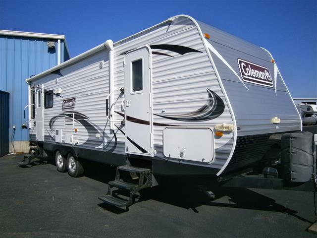 Used 2013 Keystone Coleman CTS270RL Travel Trailer For Sale