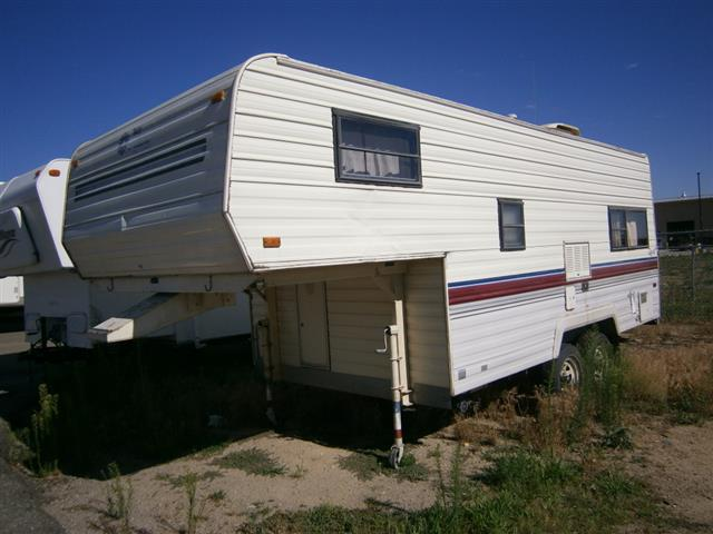 Used 1989 Fleetwood Terry FW Fifth Wheel For Sale
