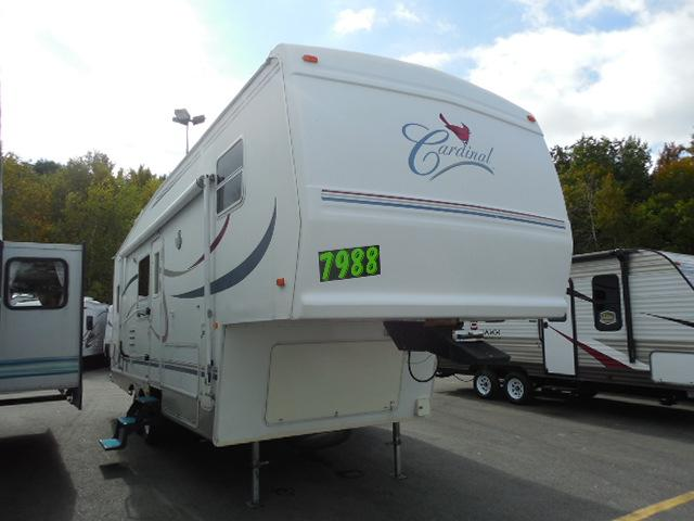 New 2002 Forest River Cardinal 27 RKLX Fifth Wheel For Sale