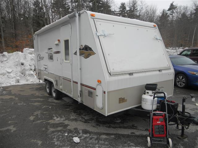 New 2004 Starcraft Travel Star 21SS Hybrid Travel Trailer For Sale