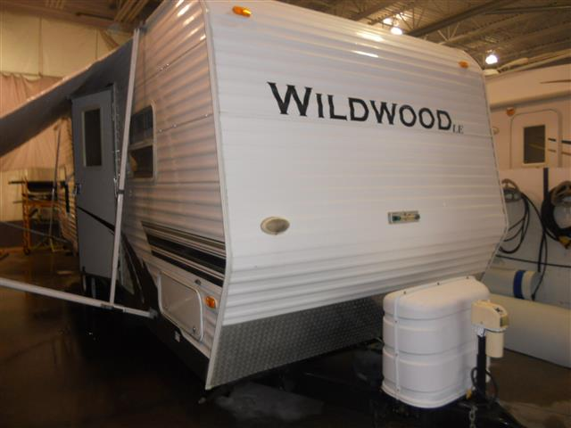 New 2008 Forest River Wildwood 26BHTBSS Travel Trailer For Sale