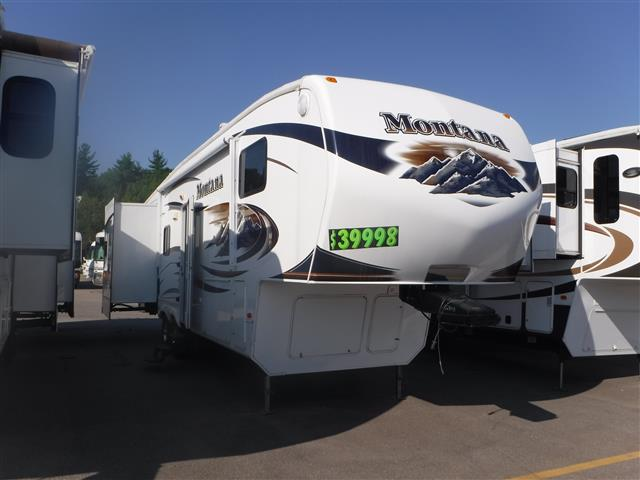 Used 2010 Keystone Montana 3150 Fifth Wheel For Sale