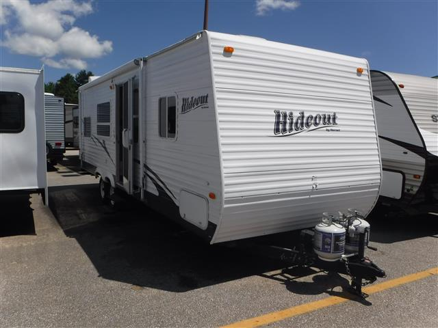 Used 2007 Keystone Hideout 27BH Travel Trailer For Sale