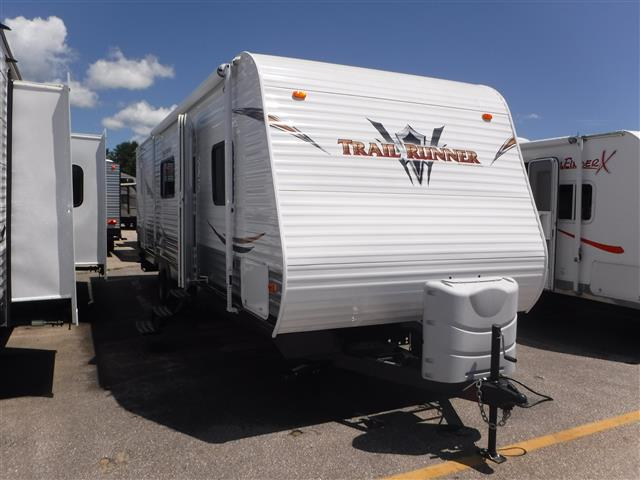 Used 2013 Heartland Trail Runner 28BHK Travel Trailer For Sale