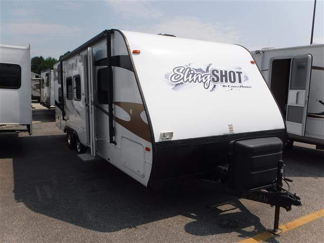 Used 2011 CROSSROADS RV SLING SHOT 26BH Travel Trailer For Sale