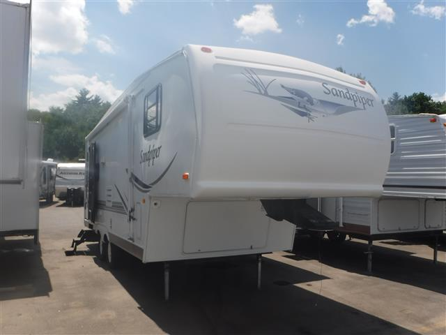 Used 2003 Forest River Sandpiper 25RL Fifth Wheel For Sale