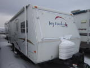 Used 2004 Jayco Jayfeather 25G Hybrid Travel Trailer For Sale