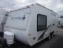 Used 2009 Jayco Jayfeather 19H Hybrid Travel Trailer For Sale