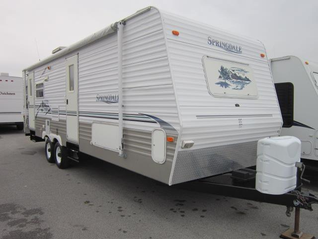 Used 2005 Keystone Springdale 269RLLS Travel Trailer For Sale