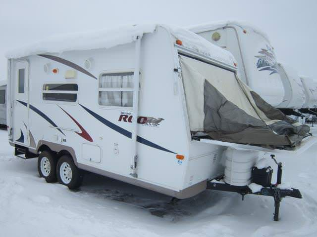 Used 2007 Rockwood Rv Roo 19 Hybrid Travel Trailer For Sale