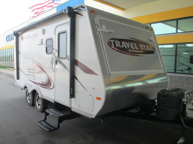 Used 2014 Starcraft Travel Star 187TB Hybrid Travel Trailer For Sale