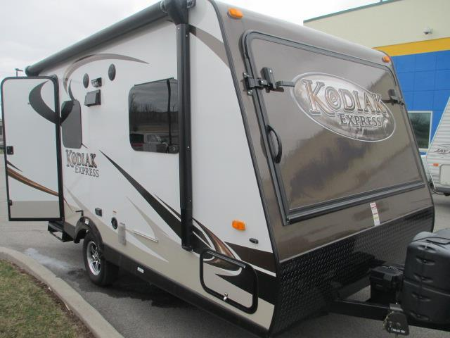 Used 2013 Dutchmen Kodiak 172E Hybrid Travel Trailer For Sale
