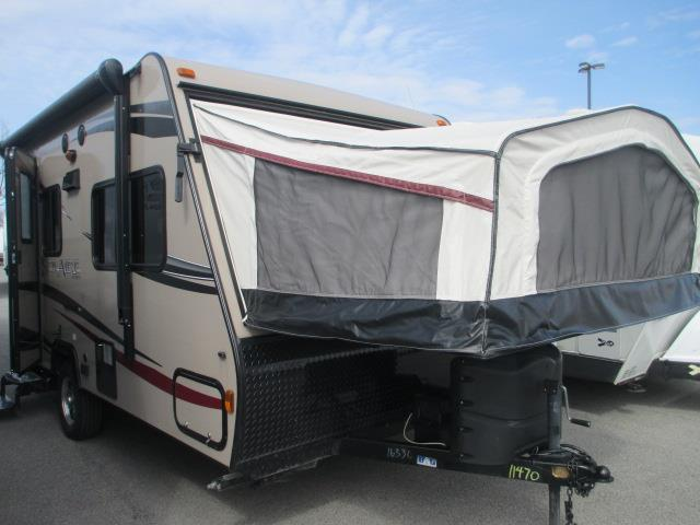 Used 2014 Forest River SOLAIRE 147X Hybrid Travel Trailer For Sale