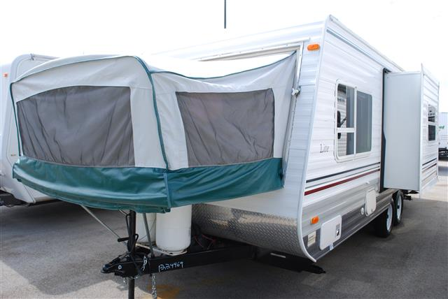 Used 2004 Dutchmen Four Winds 23SS Hybrid Travel Trailer For Sale